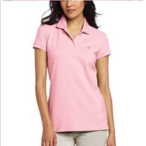 Lilly Pulitzer Island Polo In Light Pink